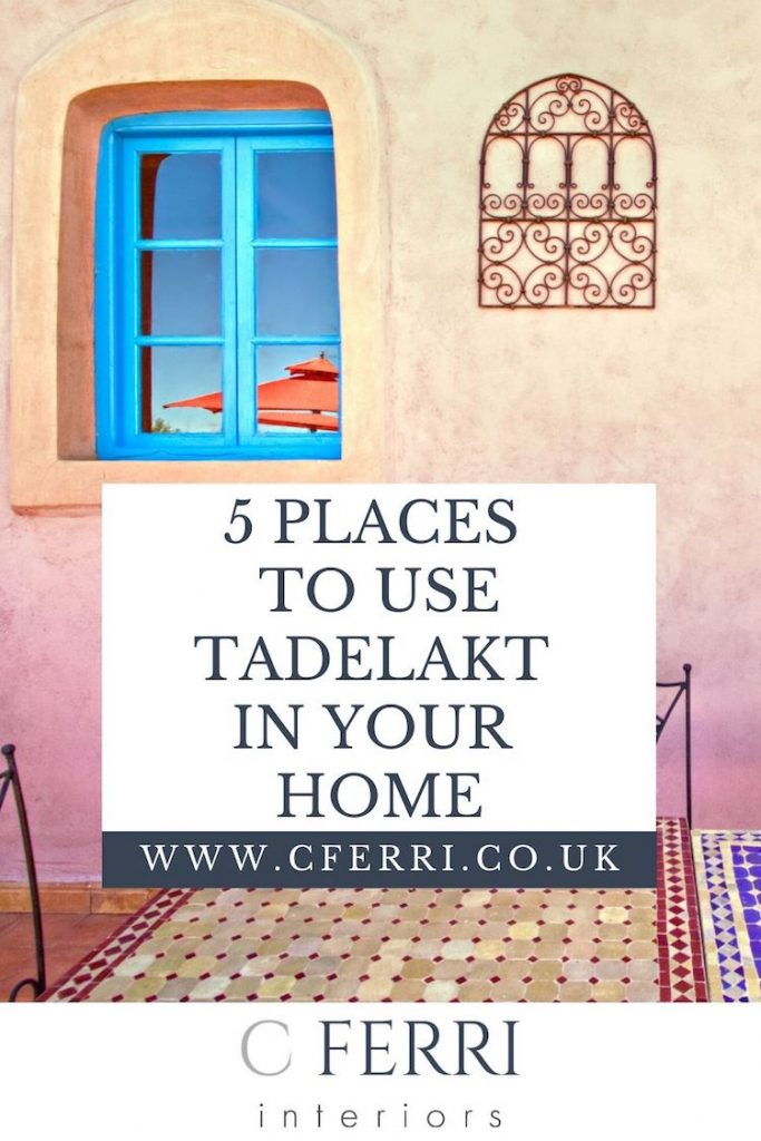 Where to use tadelakt in your home