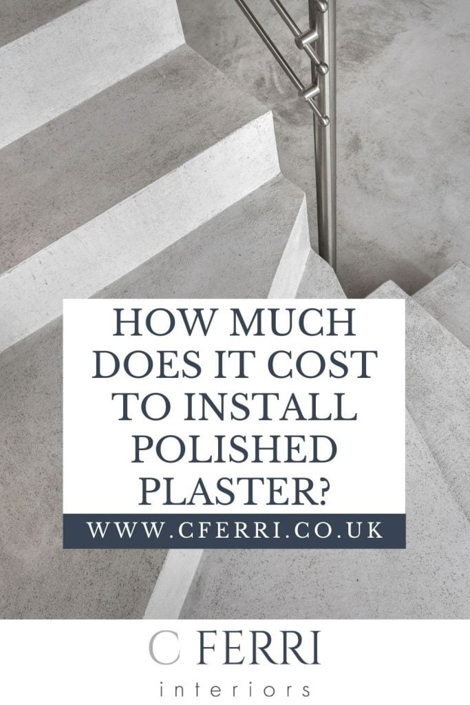How much does it cost to install polished plaster